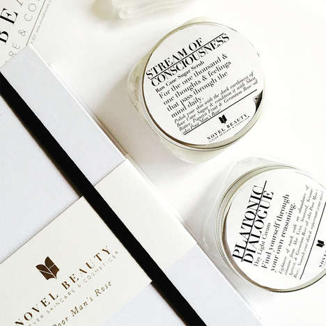 Book-Packaged Skincare Products - This Brand Encourages Relaxing Skincare Routines