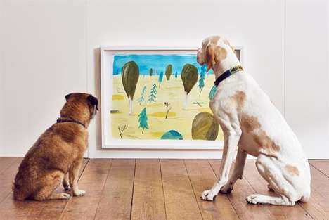 Pet-Friendly Art Galleries - Pet Insurance Provider 'More Than' Created Interactive Art for Pets