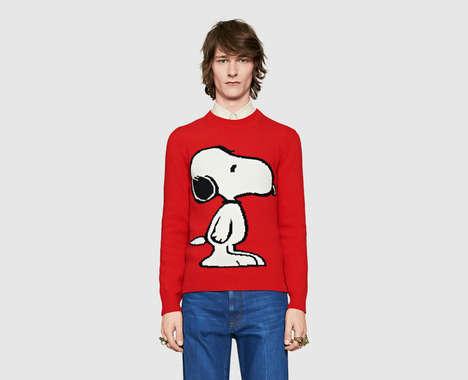 Luxe Cartoon Canine Apparel