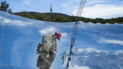 Efficient Solar Steam Generators - ANU's Solar Thermal Dish Converts 97 Percent of Sunlight to Steam