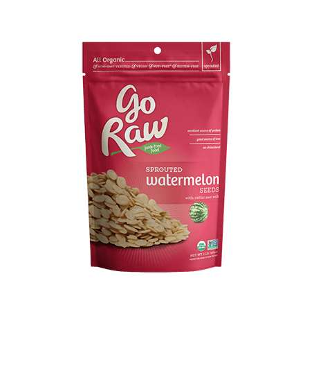 Sprouted Watermelon Seeds - Go Raw's Sprouted Watermelon Seeds are a Rich Source of Protein and Zinc