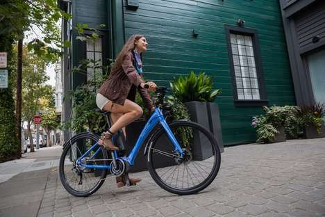 Women-Specific Electric Bikes - The Karmic Kyoto was Designed with Women in Mind