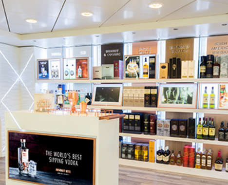 Multi-Sensory Liquor Shops