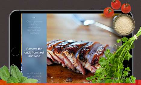 Talkative Recipe Apps - The 'Napkin' App Talks Users Through Recipes