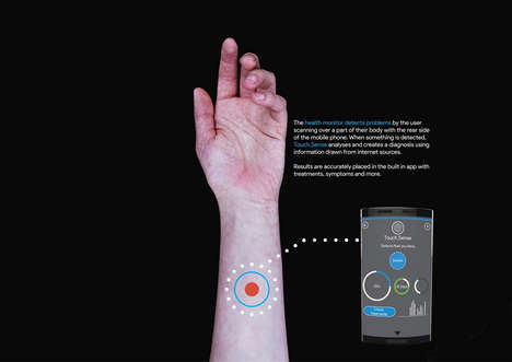 Bio-Scanning Smartphones - The 'Touch-Screen' Cellular Device Tracks Health Through a Camera