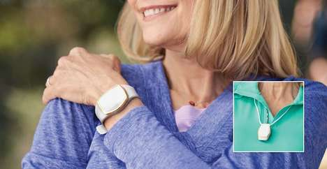 Senior-Focused Fitness Trackers - This Wearable Device is Equipped with an Urgent Response Button