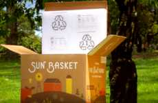 The Sun Basket Meal Delivery Service Uses Sustainable Packaging