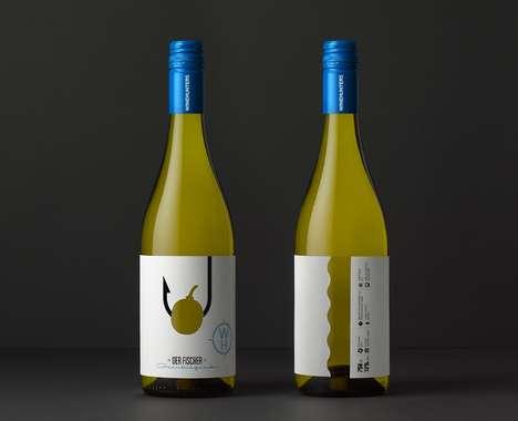 Hunting-Inspired Wine Bottles