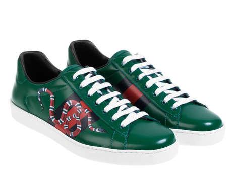 Sleek Snake Sneakers