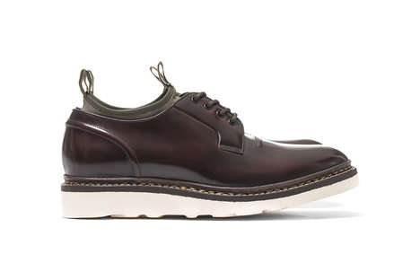 "Modernized One-Cut Shoes - These ""Blucher"" Shoes Feature a Unique Twist on a Classic Design"