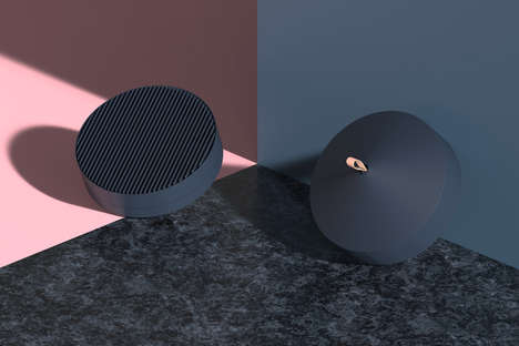 Portable Minimalist Fans - This Portable Cooling Device Concept is Controlled Via a Smartphone App