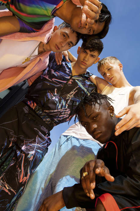 Eccentric Sportswear Collaborations - Nasir Mazhar Joined Topman for a Line of Men's Athletic Wear