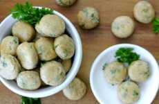 Canine Breath Treats - These Homemade Dog Biscuits Contain Basil and Peppermint Oil to Reduce Odor