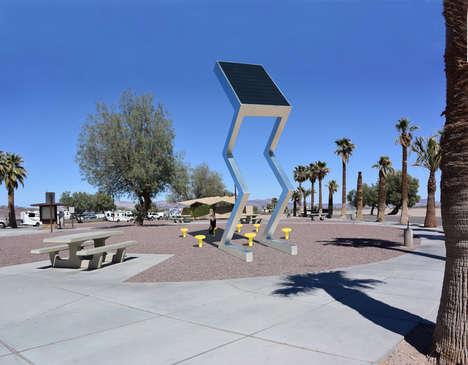 Eco-Friendly Solar Sculptures - 'Solar Electric Sculptures' Bring Beauty and Energy to Communities