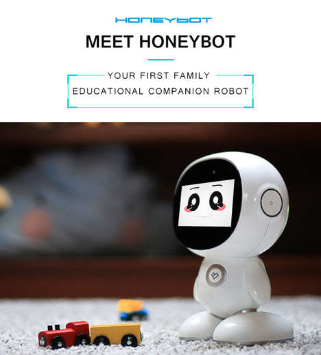 Educational Family Robots - This Educational Companion is Perfect for Families with Young Children