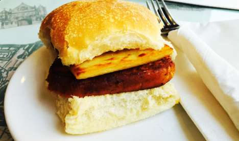 Vegan Soy Sausages - Rose & Grant Café Offers Animal-Free Scottish Breakfast Sandwiches