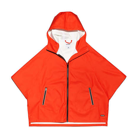 Rainproof Clothing Collections - This Converse Collection of Clothes and Accessories is Weatherproof