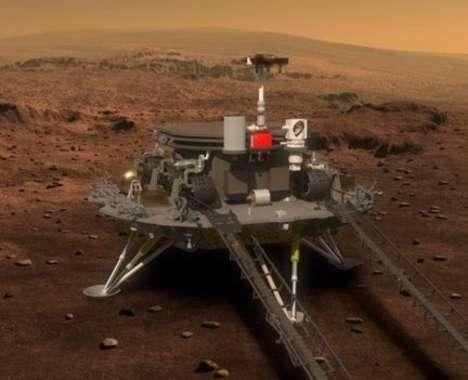 Chinese Mars Rovers