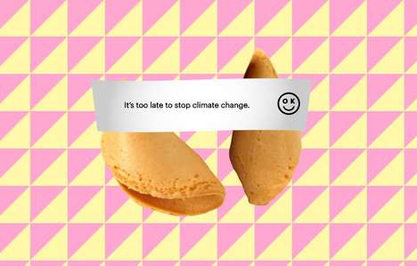 Dismal Fortune Cookies - 'OK Cookie' Delivers Fortune Cookies with Distressing Messages