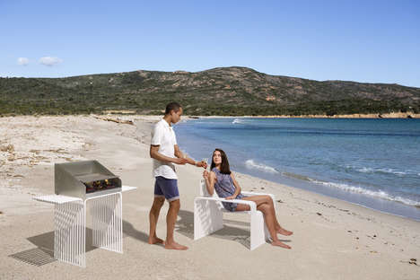 Steely Outdoor Furniture - Diemmebi's 'Zeroquidici.015' is a Unique Take on Outdoor Furnishings