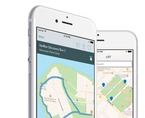 Jogging Tourism Apps