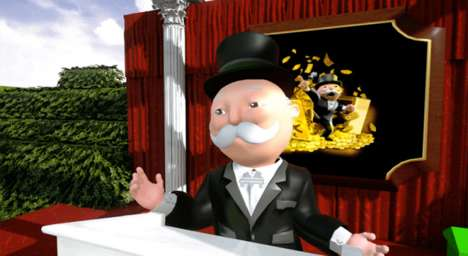 Animated Character Livestreams - Hasbro Created a Facebook Live Broadcast Starring Mr. Monopoly