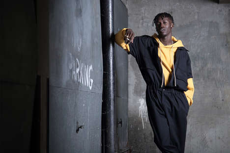 Modernized Men's Jumpsuits - 'Rabbithole London' Revitalized Work-Inspired Designs and 1980s Looks