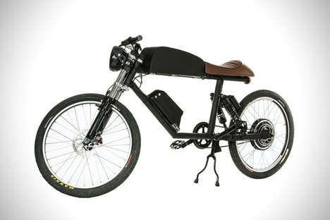 Motocross Bike Hybrids - The Tempus Electric Bike Provides An Electric Racer Functionality