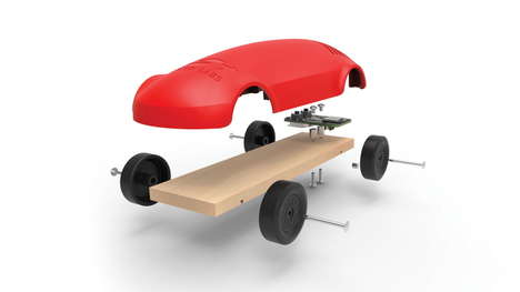Wireless Sensor Vehicles - The Thunderboard React Uses Bluetooth Capability to Track Performance
