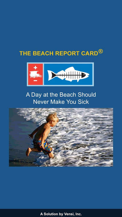 Bacteria-Forecasting Beach Apps - The Beach Report Card App Informs Beachgoers About Water Quality