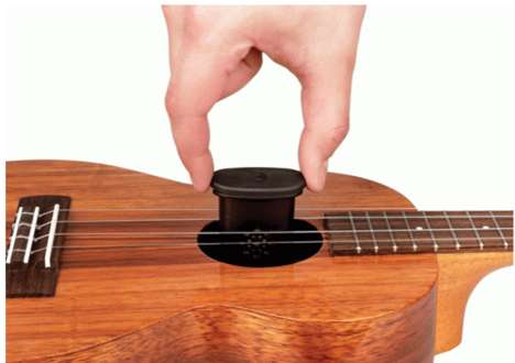 Utilitarian Ukulele Humidifers - D'Addario's New Humidifier Prevents Damage to Ukulele Materials