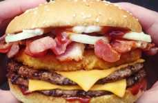 Parody Meat Sandwiches - Burger King's 'Meatatarian Range' Food Menu is Packed With Meat Toppings