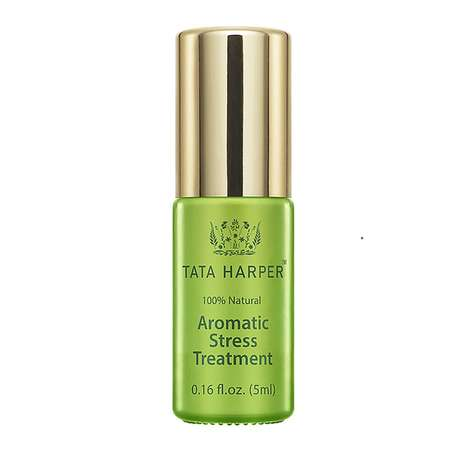 Anxiety-Relieving Aromatherapy - The Tata Harper Aromatic Stress Treatment Oil Blend Reduces Tension