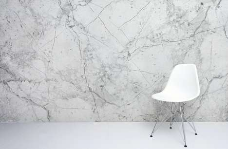 Imitation Marble Wallpaper - This Wallpaper is Designed to Add a Sophisticated Touch to Any Space