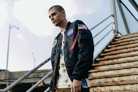 Revitalized Men's Bomber Jackets - Alpha Industries Updated Its Fall/winter Line with New Designs
