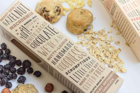 Rustic Cookie Branding - This Cookie Packaging Reflects Its Content's Wholesome Ingredients
