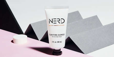 Scientific Skin Care Products - Nerd's Skin Care Rebranding Reflects Its Scientific Background