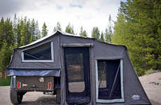 Transportable Encampment Trailers