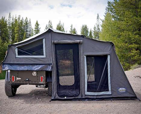 Transportable Encampment Trailers
