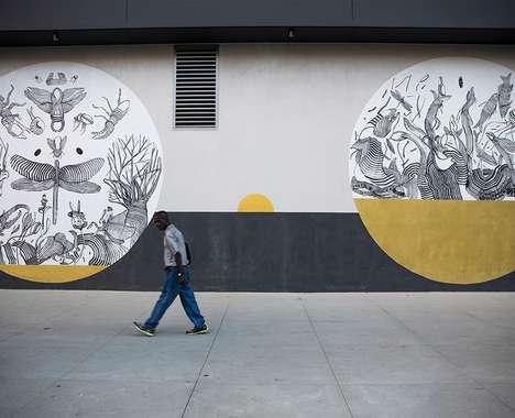 30 Statement Street Murals
