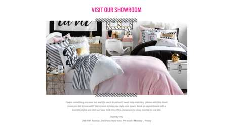 Dorm Room Shopping Assistants - Dormify's NYC Showroom Has Personal Stylists on Hand for Assiatnce