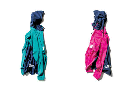 Vibrant Collaborative Sportswear - Nike and SOPHNET.'s Bright Clothing is Made for Functionality