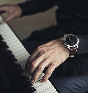 Elegant Luxury Smartwatches - Garmin Has Released Its First Watch with Smart Features