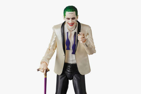 Weapon-Holding Villain Collectibles - Medicom Toy is Set to Offer Consumers a New Joker Figurine