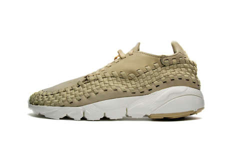 Woven Linen Sneakers - Nike Revitalized One of Its Popular Models with an Especially Neutral Theme