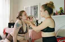 Lena Dunham and Jemima Kirke Star in These 'Lonely' Lingerie Ads