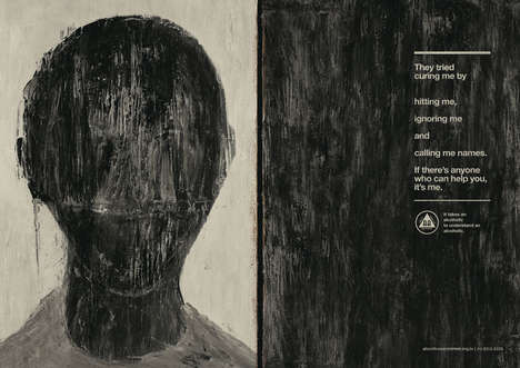 Faceless Alcoholic Campaigns - These Alcoholics Anonymous Resumes Speak to Those Involved