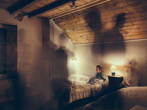 Childhood Fear Photography - These Photographs Represent a Child's Wild Imagination at Night