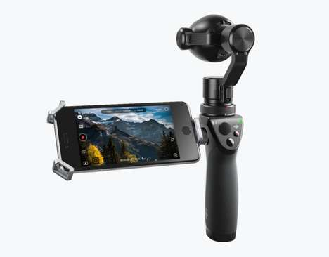 Stabilized 4K Action Cameras - The Osmo+ Camera Lets You Capture Blur-Free 4K Video