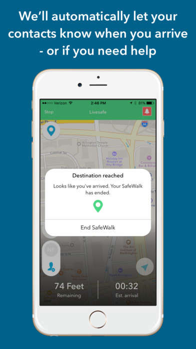 Connective Campus Safety Apps - The LiveSafe App Lets Users Report Threatening Behavior